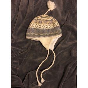 Turtle Fur Ski Hat w/ Ear Flaps